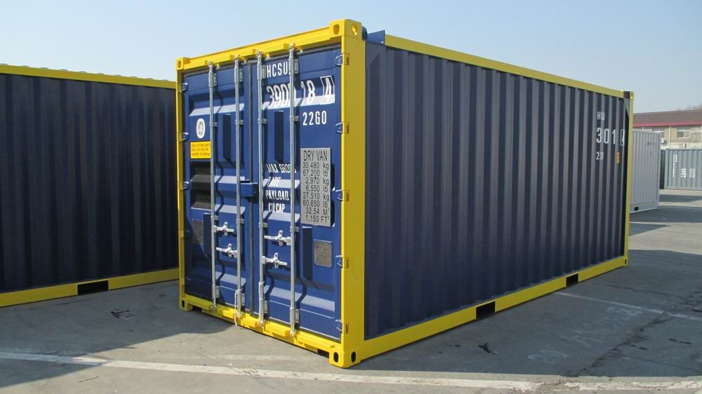 20ft Offshore container van Hacon
