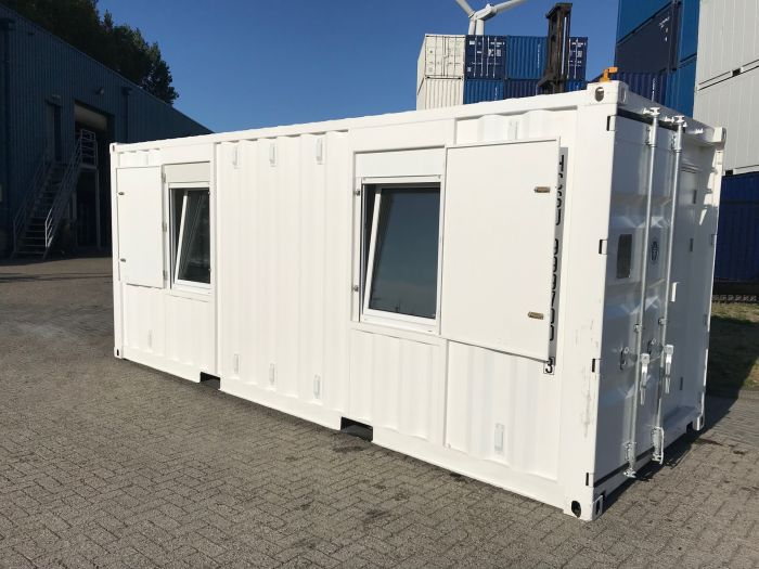 accommodatie container voor petrochemie