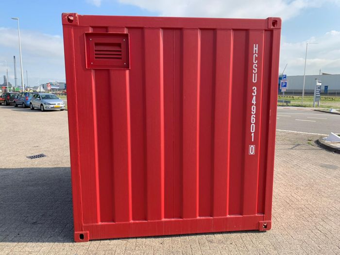 10ft A60 container zijkant